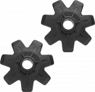 Кольца для треккинговых палок , 2 шт. Black Diamond. Цвет: черный