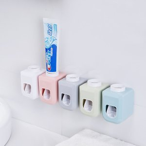 Настенная соковыжималка для зубных паст 1шт SHEIN. Цвет: многоцветный