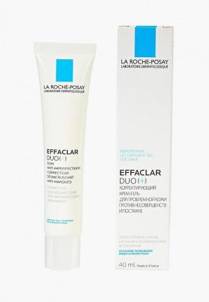 Крем для лица La Roche-Posay EFFACLAR DUO(+) Корректирующий жирной кожи, склонной к акне 40 мл. Цвет: белый