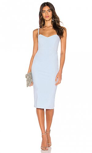 Обтягивающее платье allure Nookie. Цвет: нежно-голубой