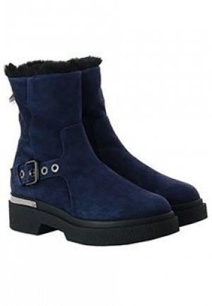 Ботинки BALDAN. Цвет: синий