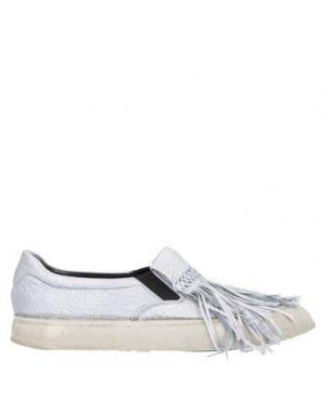 Низкие кеды и кроссовки PREMIATA. Цвет: серебристый