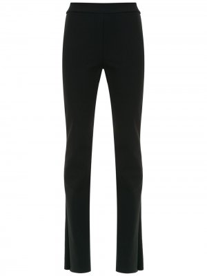 High waist flared pants Gloria Coelho. Цвет: черный