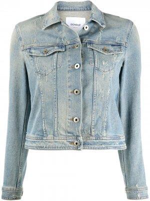 Джинсовая куртка на пуговицах Dondup. Цвет: синий