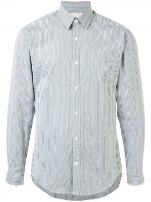 Полосатая рубашка с длинными рукавами Cerruti 1881. Цвет: серый