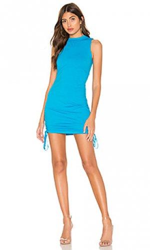 Платье-майка lisbon COTTON CITIZEN. Цвет: синий