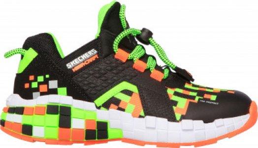 Кроссовки для мальчиков Mega-Craft, размер 31.5 Skechers. Цвет: черный