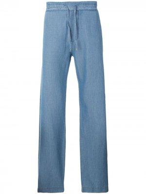 Широкие джинсы Ermanno Scervino. Цвет: синий