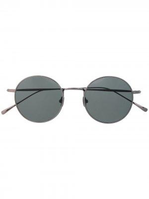 Солнцезащитные очки Jules в круглой оправе Waiting For The Sun. Цвет: черный