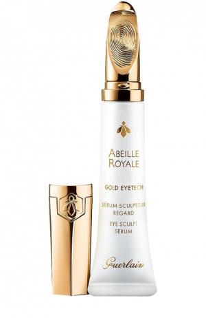 Сыворотка для кожи вокруг глаз Abeille Royale Gold Eeytech Guerlain. Цвет: бесцветный