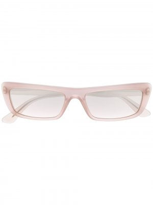 Солнцезащитные очки в квадратной оправе Vogue Eyewear. Цвет: нейтральные цвета