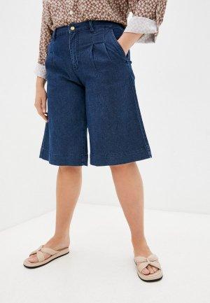 Шорты джинсовые Lilly Bennet. Цвет: синий
