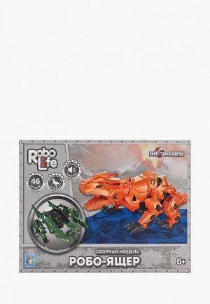 Робот Robolife - конструктор, RoboLife, Сборная модель Робо-ящер. Цвет: разноцветный