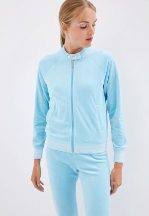 Олимпийка Juicy Couture. Цвет: голубой