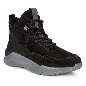 Ботинки INTERVENE ECCO. Цвет: черный