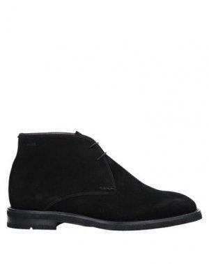 Полусапоги и высокие ботинки BALLY. Цвет: черный