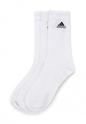 Комплект adidas PER CREW T 3PP. Цвет: белый