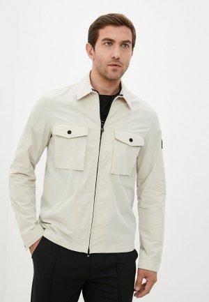 Куртка Calvin Klein. Цвет: бежевый