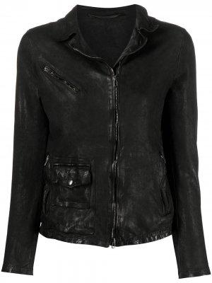 Куртка на молнии Salvatore Santoro. Цвет: черный