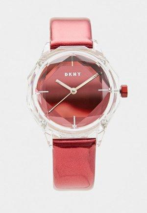 Часы DKNY NY2858. Цвет: бордовый