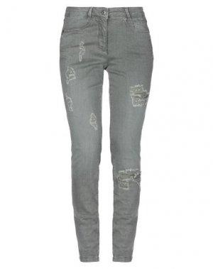 Джинсовые брюки MARC AUREL. Цвет: свинцово-серый