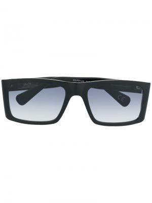Солнцезащитные очки 007LP Enzo Laps Collection Italia Independent. Цвет: черный