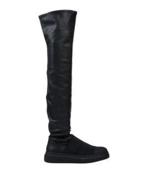 Сапоги FESSURA. Цвет: черный