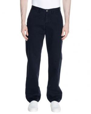 Повседневные брюки CHINO by BEN SHERMAN. Цвет: темно-синий