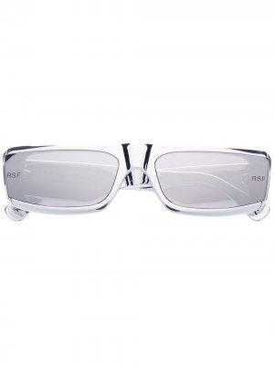 Солнцезащитные очки Issimo Chrome Retrosuperfuture. Цвет: серый