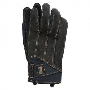 Комбинированные перчатки Garage Harley-Davidson. Цвет: чёрный