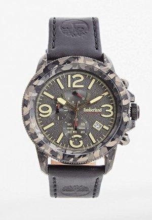 Часы Timberland. Цвет: серый