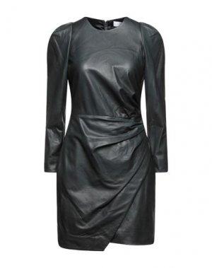 Короткое платье A.L.C.. Цвет: темно-зеленый