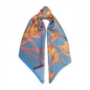 Шелковый платок Amaryllis Radical Chic. Цвет: синий