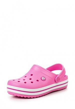 Сабо Crocs Crocband Clog K. Цвет: розовый