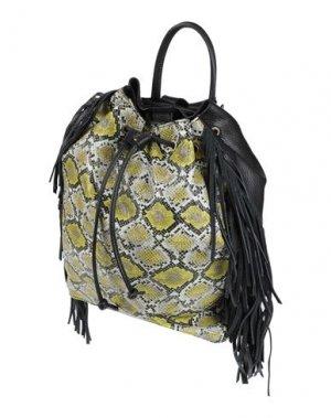 Рюкзаки и сумки на пояс CATERINA LUCCHI. Цвет: кислотно-зеленый