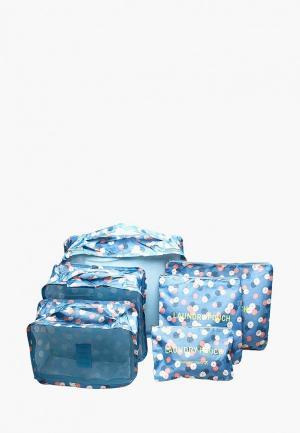 Комплект Homsu Blue Flower. Цвет: голубой