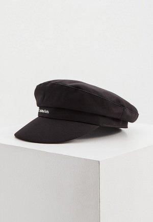 Кепка Calvin Klein. Цвет: черный