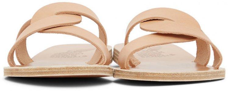 Tan Desmos Sandals Ancient Greek. Цвет: natural