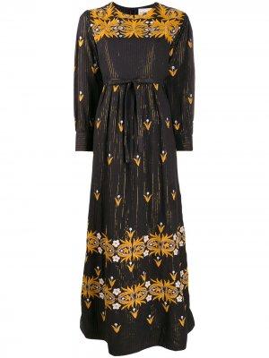 Платье макси с вышивкой Antik Batik