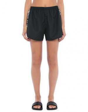 Пляжные брюки и шорты DIESEL. Цвет: черный