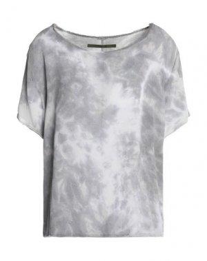 Блузка ENZA COSTA. Цвет: светло-серый