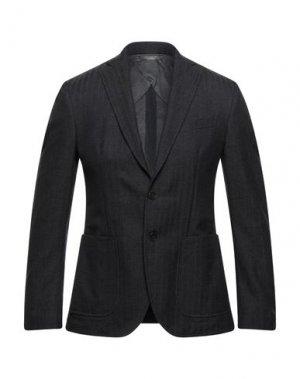 Пиджак DELLACHIANA. Цвет: стальной серый
