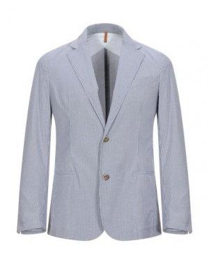 Пиджак 26.7 TWENTYSIXSEVEN. Цвет: грифельно-синий