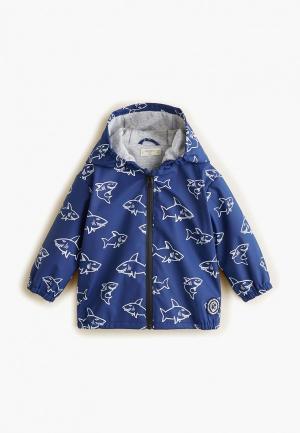 Куртка Mango Kids - TIMER. Цвет: синий