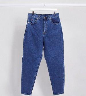 Джинсы в винтажном стиле с завышенной талией -Голубой Dr Denim Plus