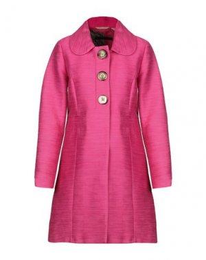 Легкое пальто SET. Цвет: фуксия
