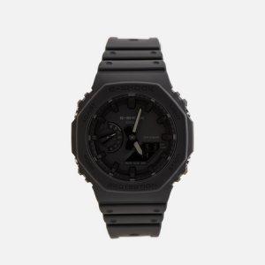 Наручные часы G-SHOCK GA-2100-1A1ER Octagon Series CASIO. Цвет: чёрный