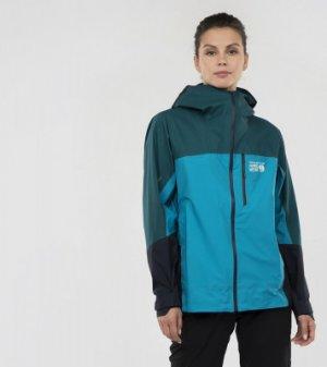 Ветровка женская Exposure/2™ Gore-Tex® Active, размер 46 Mountain Hardwear. Цвет: голубой