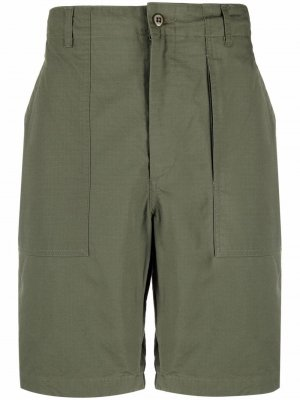 Шорты карго Engineered Garments. Цвет: зеленый