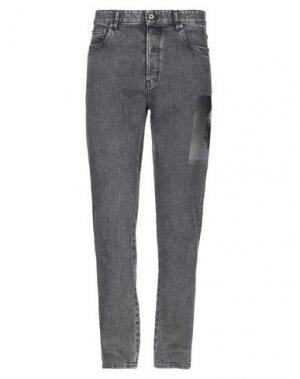 Джинсовые брюки JUST CAVALLI. Цвет: черный